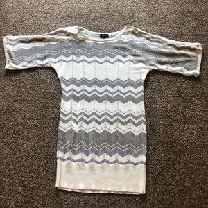 Sparkly Sweater Dress